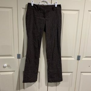 The Limited Brown Drew Fit Pants Size 0